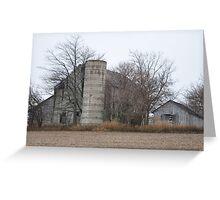 Old Barns in Selma Greeting Card