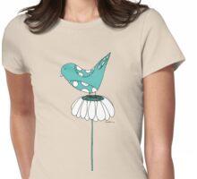 Daisy bird Womens Fitted T-Shirt
