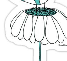 Daisy bird Sticker