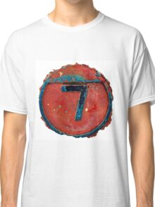 Number Seven Classic T-Shirt