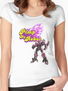 Pimp my robot Women's Fitted Scoop T-Shirt