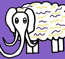 Wooly mammoth cotton candy by mcthoughtful