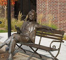 Mark Twain Statue #1 by Jan  Tribe