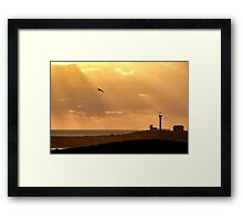 Let There Be (Yarmouth) Light Framed Print