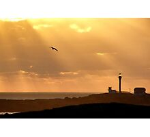 Let There Be (Yarmouth) Light Photographic Print