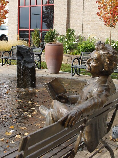 Mark Twain Statue #2 by Jan  Tribe
