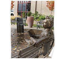 Mark Twain Statue #2 Poster