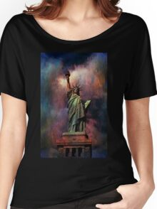Lady Liberty Women's Relaxed Fit T-Shirt