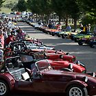 Line up of clubmans at the Jindabyne 2009 nationals by ibz777ibz