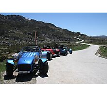 Clubmans at the bottom of the windy road Photographic Print
