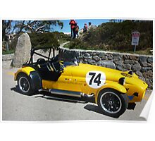 Westfield kitcar up at Charlottes Pass Poster