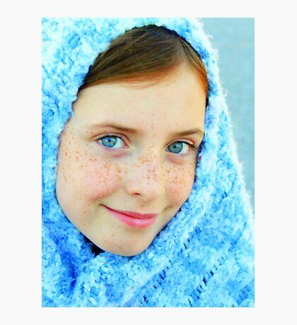 Blue Eyed Girl  #2 Photographic Print