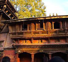 Mediaeval Architecture Kathmandu by jacqi