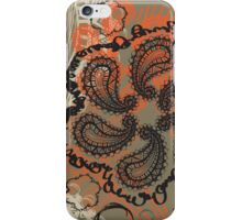Spicy Paisley iPhone Case/Skin