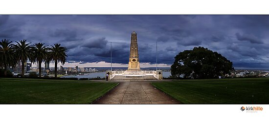 Kings Park War Memorial by Kirk  Hille