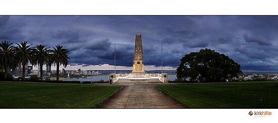 Kings Park War Memorial by Kirk  Hille