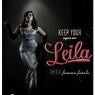 Femme Noir by Leila  Koren