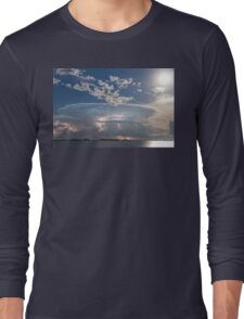 Lake Side Storm Watching Long Sleeve T-Shirt