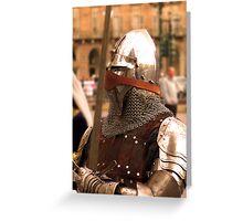 Guard  Greeting Card