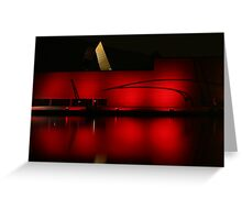 NMA Red Greeting Card
