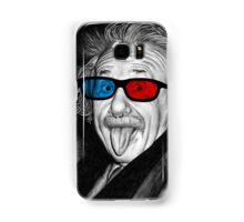 Albert Einstein 3d Glasses Piercing Samsung Galaxy Case/Skin