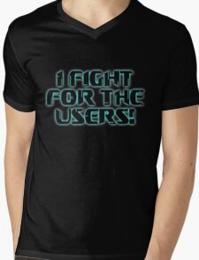 Fight 4 the Users! Mens V-Neck T-Shirt