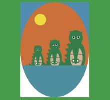 Hoodz Three Crocs Kids Tee