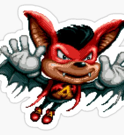 Aero the Acro-Bat - SNES Sprite Sticker
