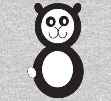 Hoodz Panda One Piece - Short Sleeve