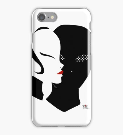 The beauty and the gimp iPhone Case/Skin