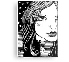 Death Becomes Her... Metal Print