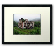 House in the Rain Forest Framed Print