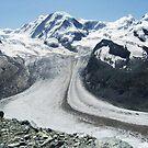 Gornergrat Glacier, Zermatt Switzerland by Monica Engeler