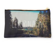 Let's Run Away IV Studio Pouch