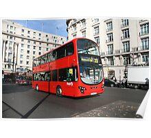 Volvo B9TL bus Poster