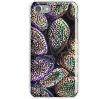 Psychedelic rust spores iPhone Case/Skin