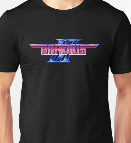 Gradius III - SNES Title Screen Unisex T-Shirt