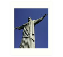 Corcovado, Christ the Redeemer Art Print