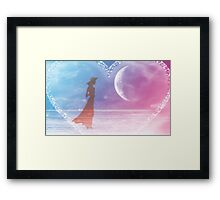 Listen to your heart-  Art + Products Design  Framed Print