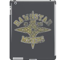 Skyrim - Football Jersey - Dawnstar Miners iPad Case/Skin