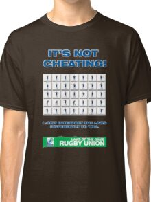 Rugby Union Laws of the Game Classic T-Shirt