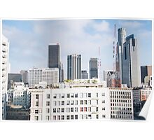 los angeles buildings Poster