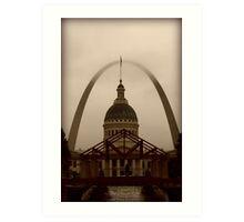 Visit St. Louis. Art Print