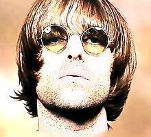 Liam Gallagher Art by kmercury