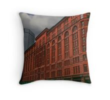 GOTHAM CITY PALACE HOTEL Throw Pillow