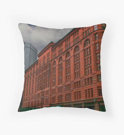 GOTHAM CITY PALACE HOTEL Throw Pillow