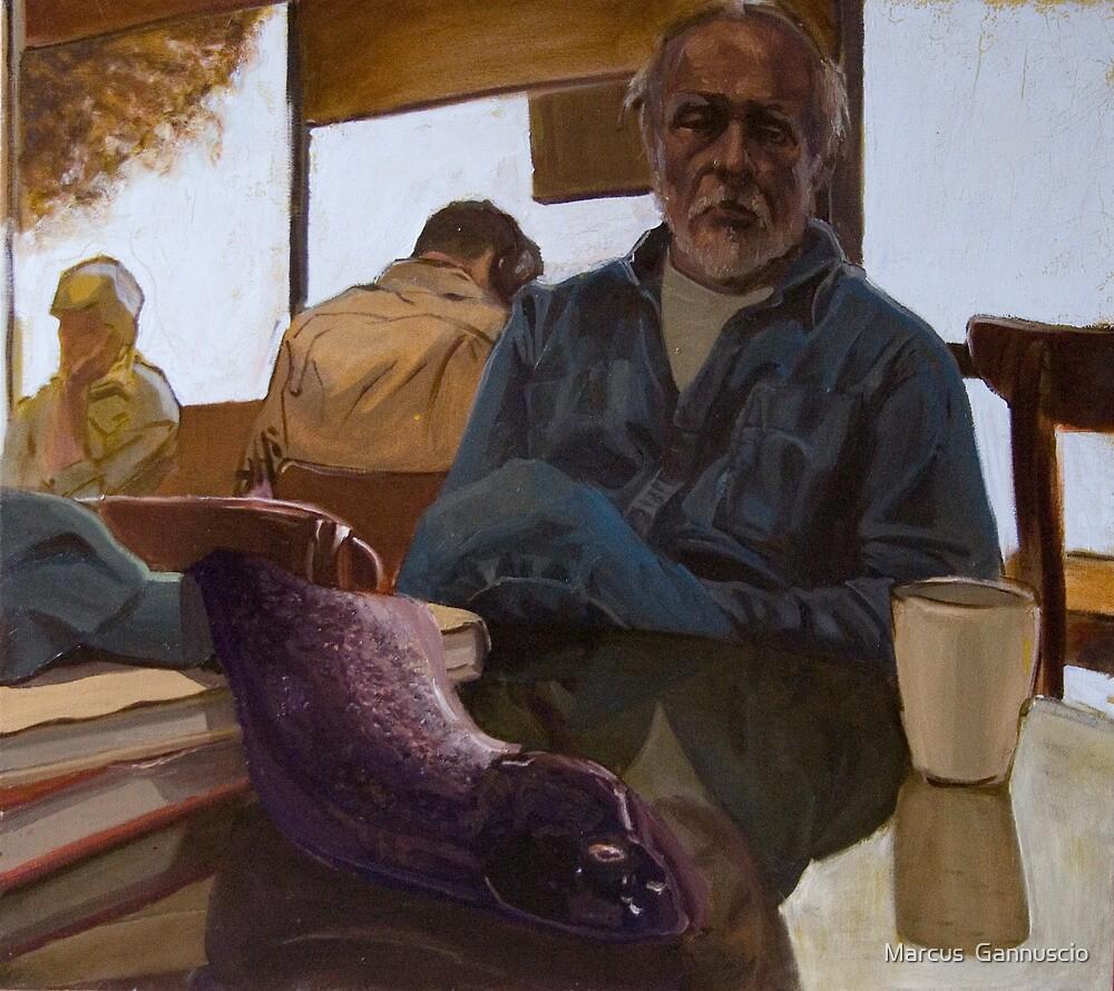 Hemingway by Marcus  Gannuscio