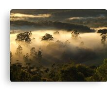 """Mist on the Hills"" Canvas Print"