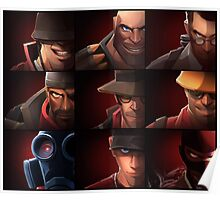 Team Fortress 2 - The Team Poster