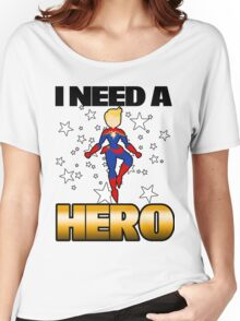 I Need a Captain Women's Relaxed Fit T-Shirt